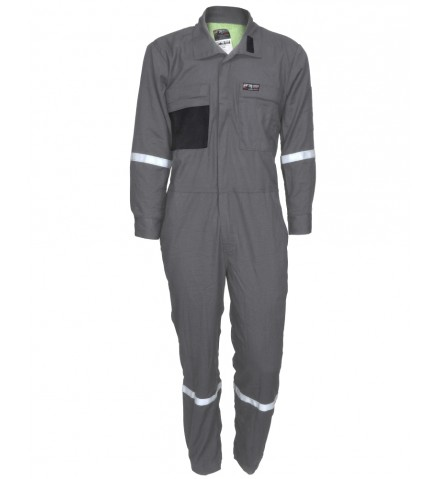 MCR Summit Breeze® FR Vented Coverall, Inherent Blend, Lightweight 5.5 oz. Ripstop Reflective Tape