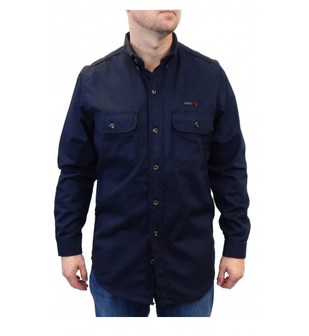 Summit Breeze® Vented Back Button Front Shirt